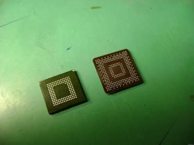 Пример перекатки BGA микросхем на мобильном телефоне Nokia 6230i