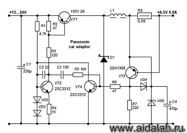 Схемы зарядников сотовых