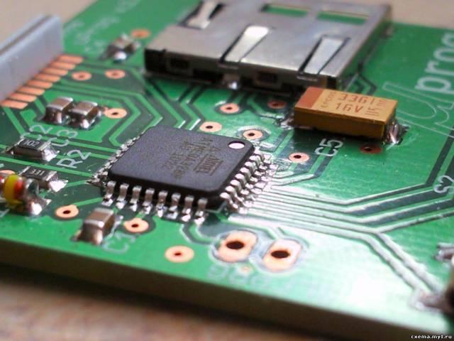 μProg - маленький, быстрый, портативный программатор AVR с SD (окончание)