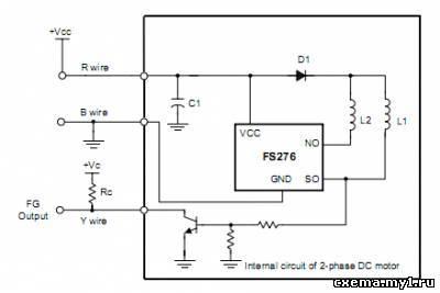 То что обведено на схеме зелёным - простой датчик Холла с ключевыми транзисторами .  Схему нашёл , а статью не...