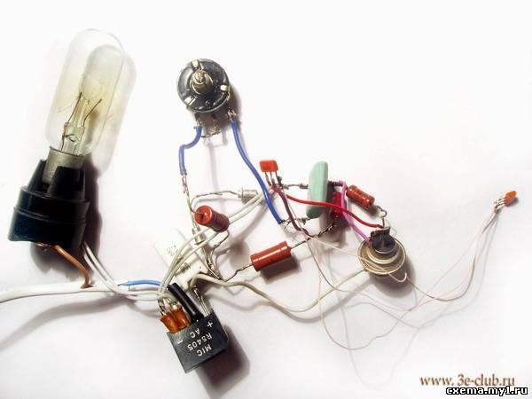 Автомобильное зарядное устройство на тиристоре. Испытание тиристорного регулятора мощности CVAVR AVR CodeVision cvavr.ru