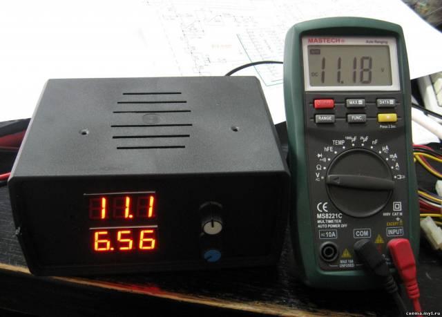 Активная нагрузка с амперметром до 100А