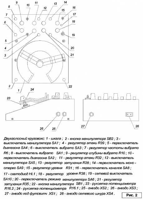 ЭМИ - Двухголосный круговокс и круговокс на логических ИМС (начало)