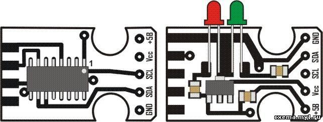 Программатор на 2 резисторах 24cxx