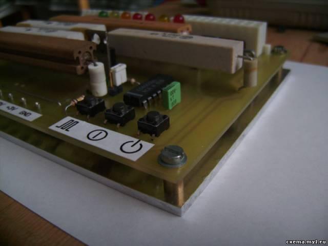 Тестер для компьютерных блоков питания. CVAVR CAVR AVR CodeVision cavr.ru