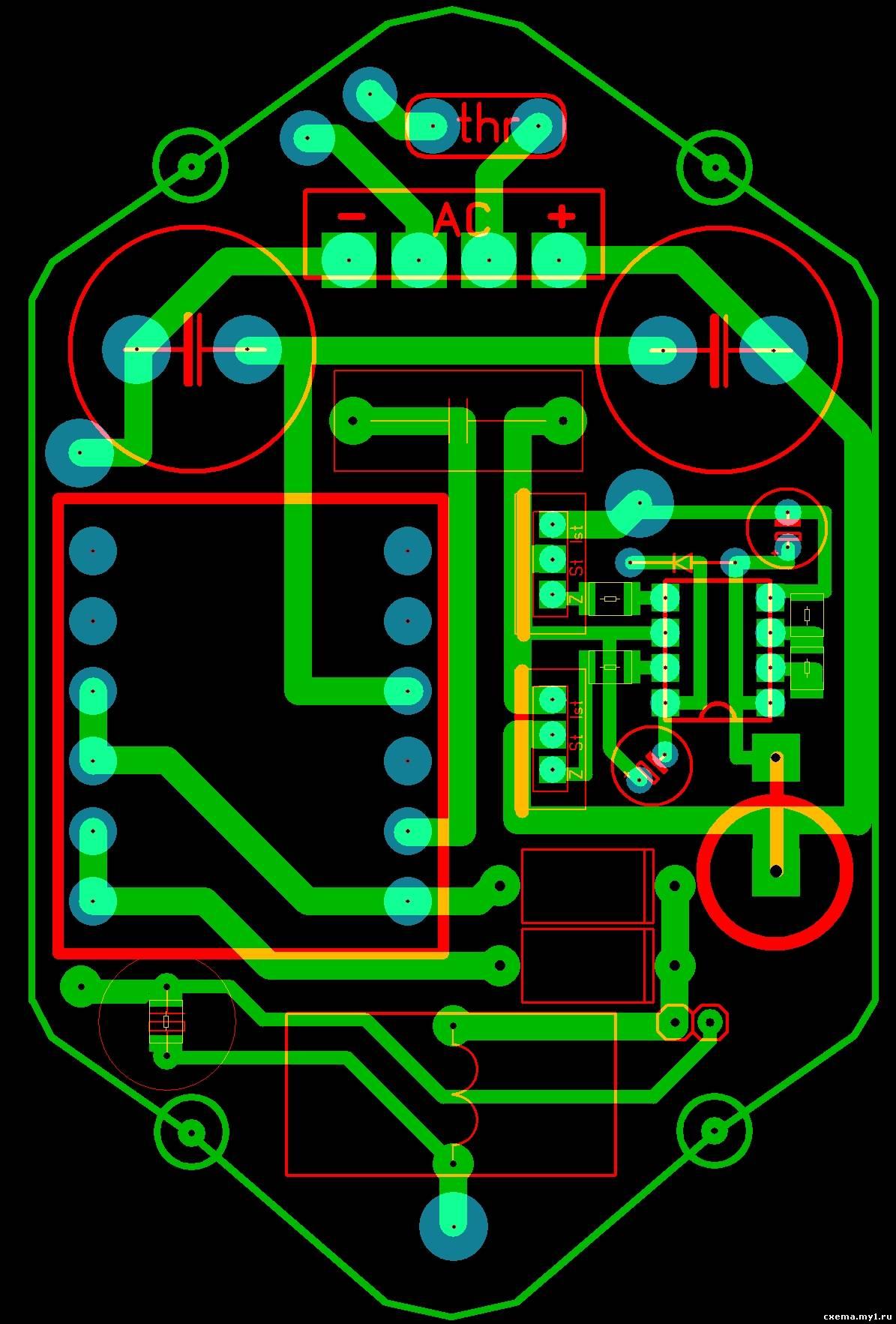схема клл на полевых транзисторах