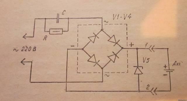 Как из электронного трансформатора сделать зарядное устройство