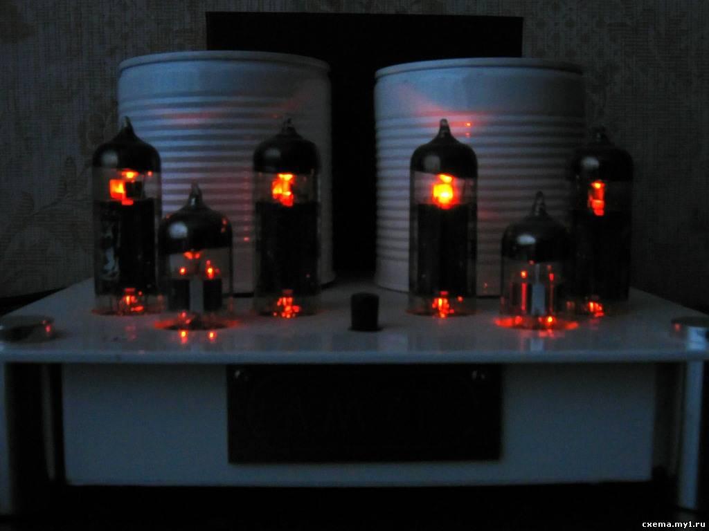 схема лампового усилителя маршал 18 ват