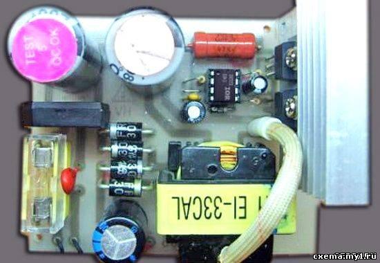 Импульсный трансформатор для блока питания своими руками 730