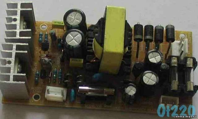 Импульсный блок питания 150Вт 2х24В + модификация до 280Вт CVAVR CAVR AVR CodeVision cavr.ru