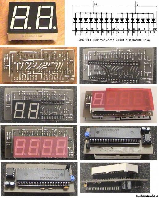Цифровой вольтметр на ICL7107