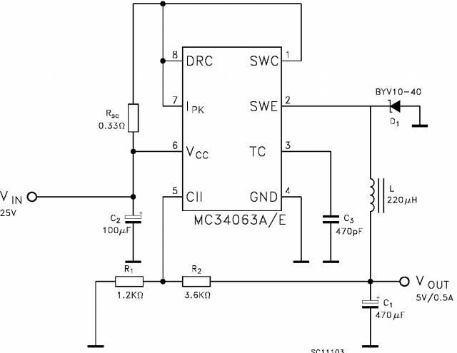 Dc-dc повышающий преобразователь 5в схема