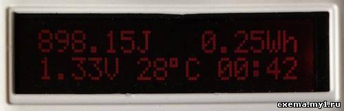 Измеритель емкости батареек CVAVR AVR CodeVision cvavr.ru
