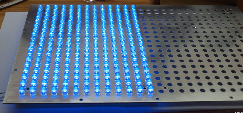 Уф светодиодная матрица