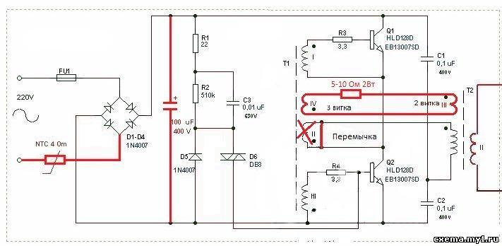 Транзисторы 13003 желательно