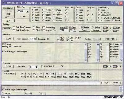 Отладочная плата fastavr CVAVR AVR CodeVision cvavr.ru