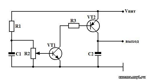 Регулятор оборотов вентилятора с датчиком температуры.