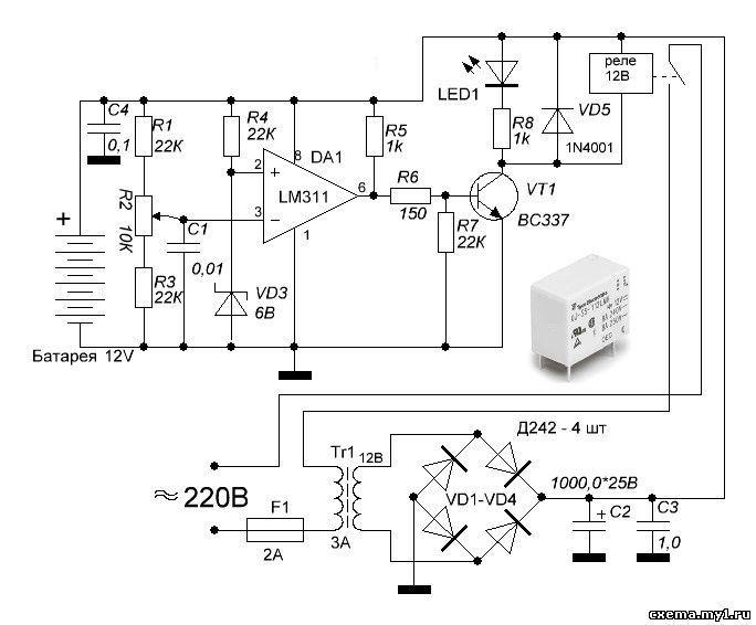 Зарядное автоматическое зарядное устройство своими руками
