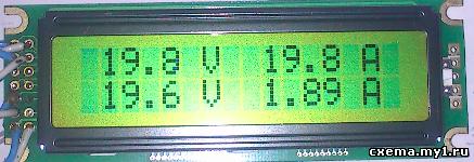 Вольтамперметр для источника питания