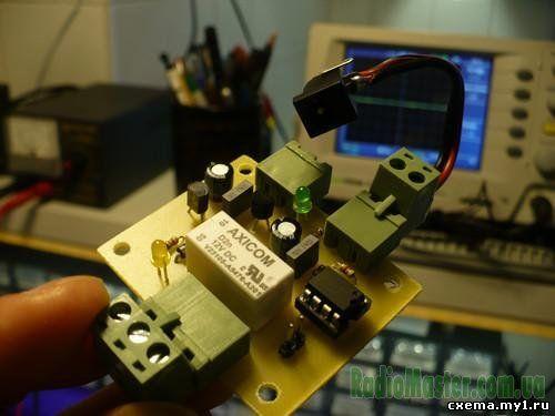 Универсальный электронный ключ на pic12f629