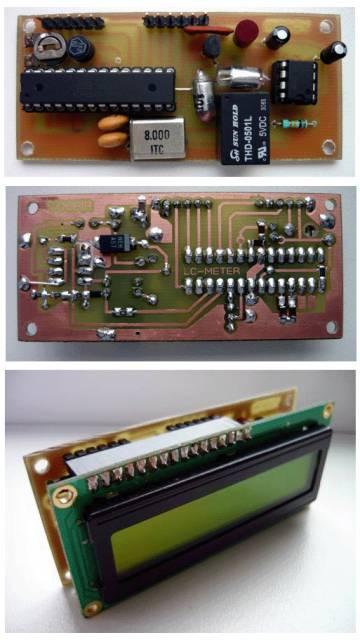 LC метр на ATmega8 – измеритель индуктивности и емкости