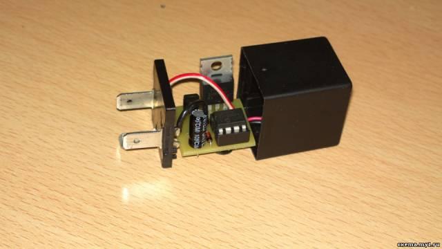 Реле поворотов на микроконтроллере pic12f675