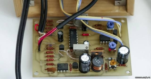 Индикатор уровня аудиосигнала на ИН-13