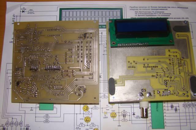 Транзистомер + LCR Метр + частотомер или 3 в 1