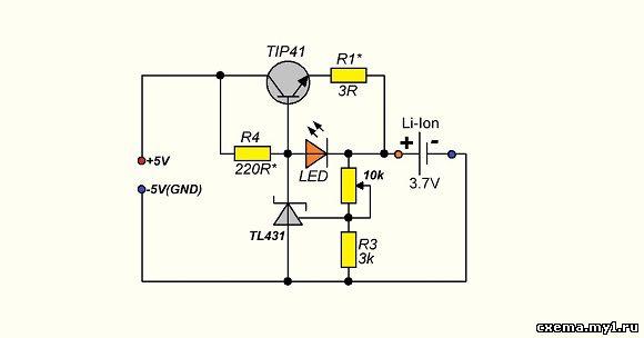 Как сделать зарядное устройства для батареек