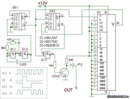 существуют схемы управления форсунками на микроконтроллерах странно
