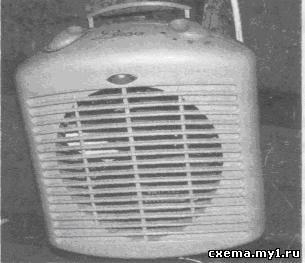 Необычный вентилятор с задержкой выключения