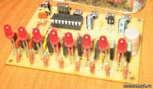 Это устройство объединяет в себе цветомузыку (ЦМУ) и светодинамическое устройство (СДУ) .