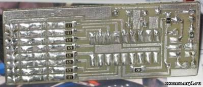 Красочный стоп-сигнал на PIC16F628A