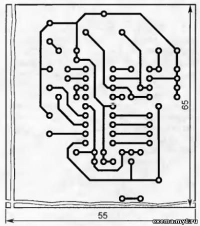 """Электронная """"записаня книжка"""" (PIC12F84, C)"""