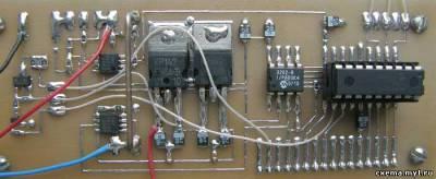 Блок питания 0...25 вольт с микроконтроллерным управлением