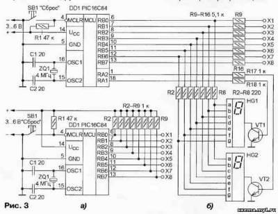 Кабельный пробник на микроконтроллере