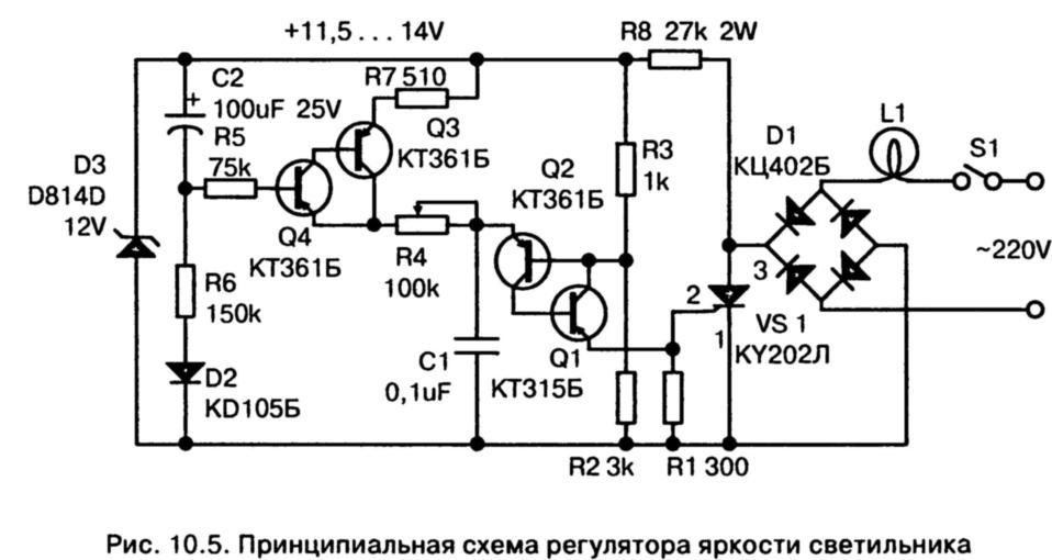 Все резисторы берите на 0,25