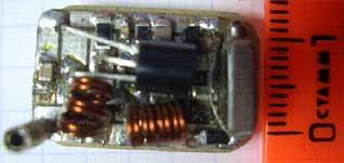 Вид жучка собранного на SMD-компонентах